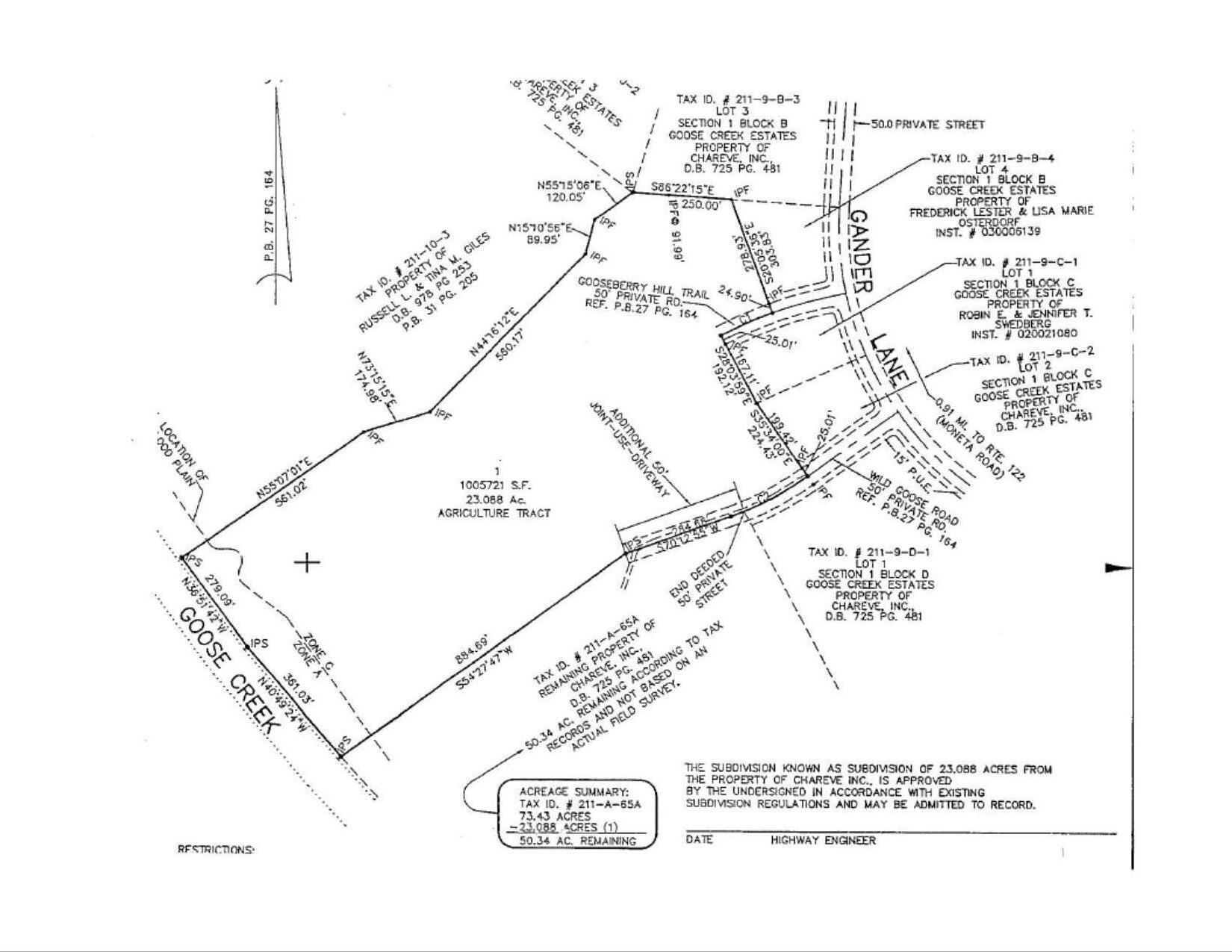 Land for Sale at 0 Gander Ln Bedford, Virginia 24523 United States