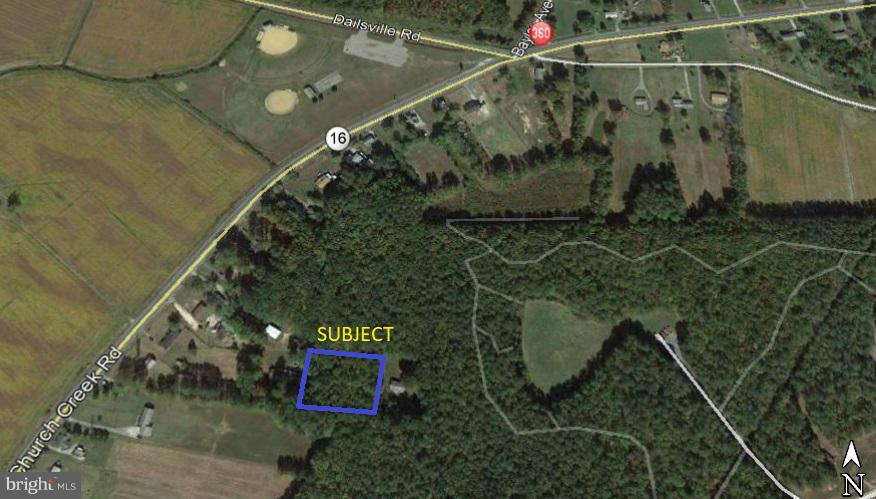 Land for Sale at 0 Md Route 16 Cambridge, Maryland 21613 United States