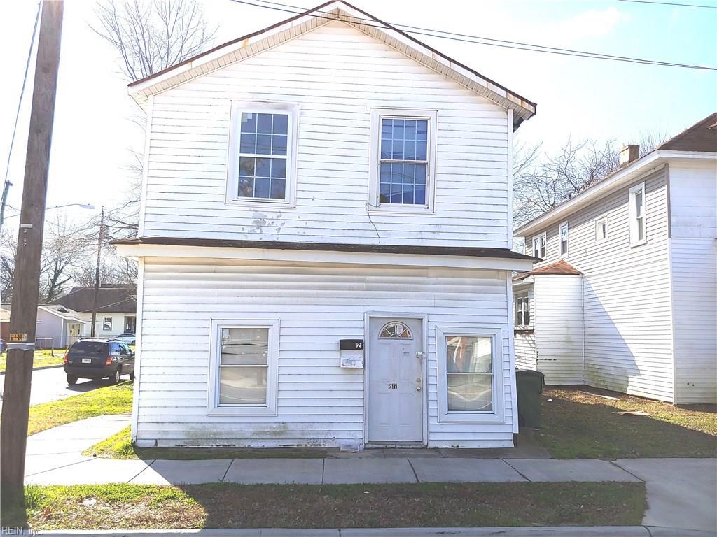 Multi Family for Sale at 2117 Lafayette Blvd 2117 Lafayette Blvd Norfolk, Virginia 23509 United States