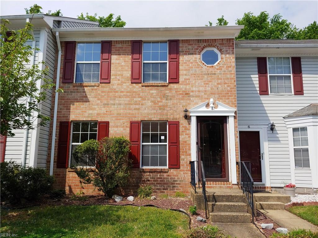 townhouses for Sale at 8 Saxony Pl 8 Saxony Pl Hampton, Virginia 23669 United States