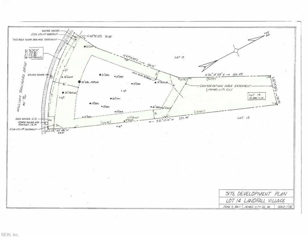 Land for Sale at 2537 William Tankard Dr 2537 William Tankard Dr Williamsburg, Virginia 23185 United States