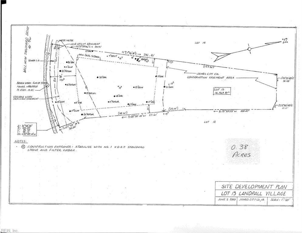 Land for Sale at 2549 William Tankard Dr 2549 William Tankard Dr Williamsburg, Virginia 23185 United States