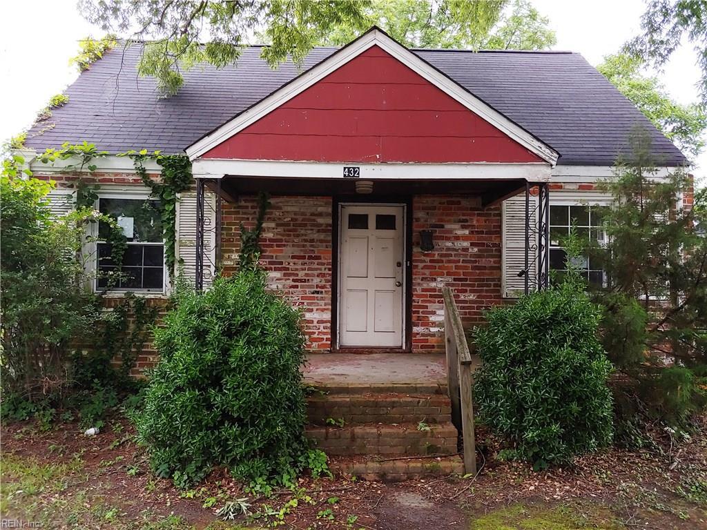 Single Family for Sale at 432 Glendale Rd 432 Glendale Rd Hampton, Virginia 23661 United States