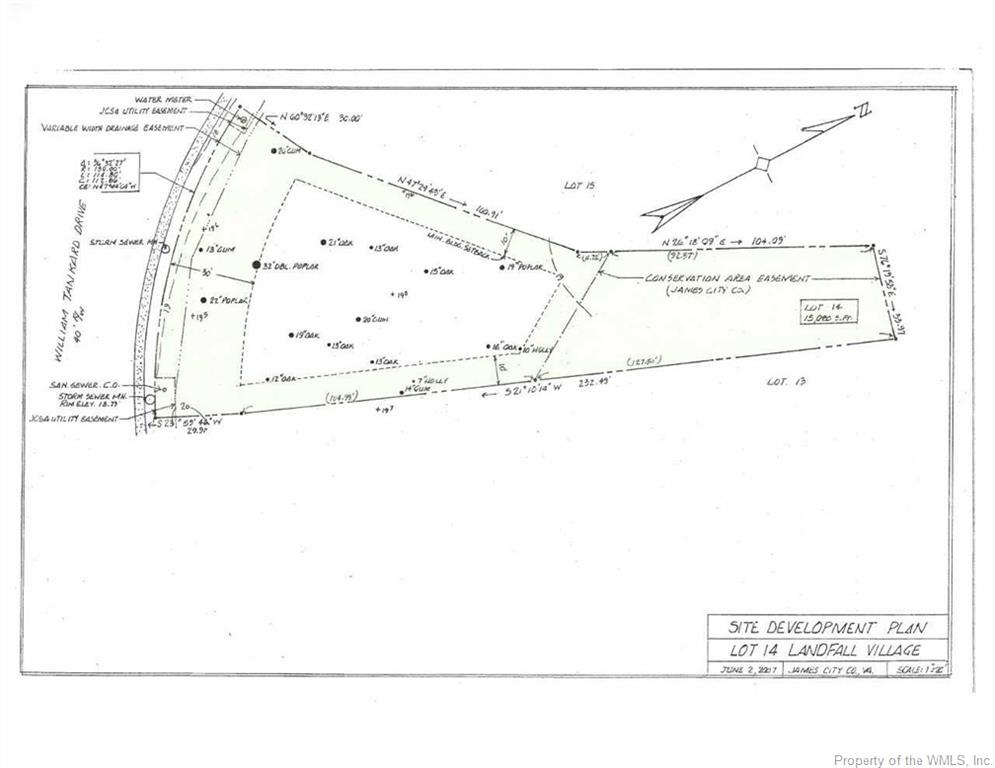 Land for Sale at 2537 William Tankard Drive 2537 William Tankard Drive Williamsburg, Virginia 23185 United States