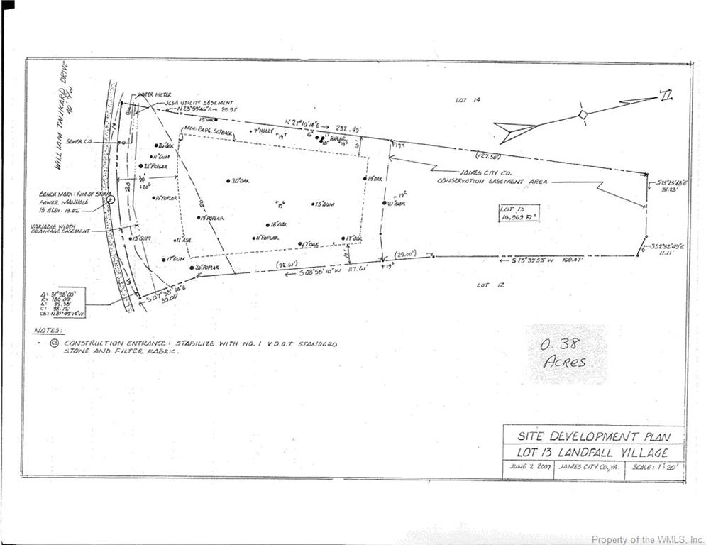 Land for Sale at 2549 William Tankard Drive 2549 William Tankard Drive Williamsburg, Virginia 23185 United States