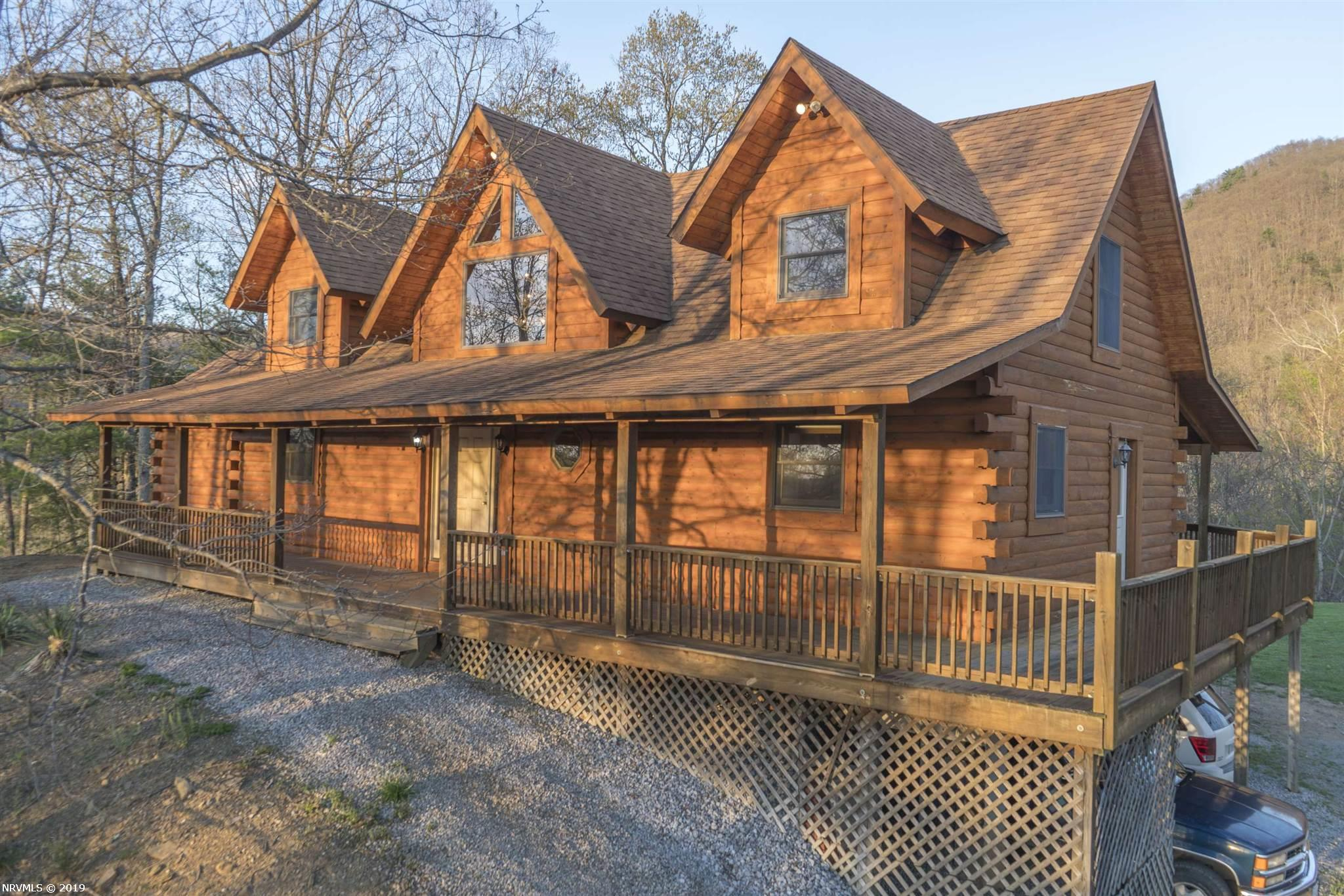 Single Family for Sale at 1157 Taylor Hollow Road Blacksburg, Virginia 24060 United States