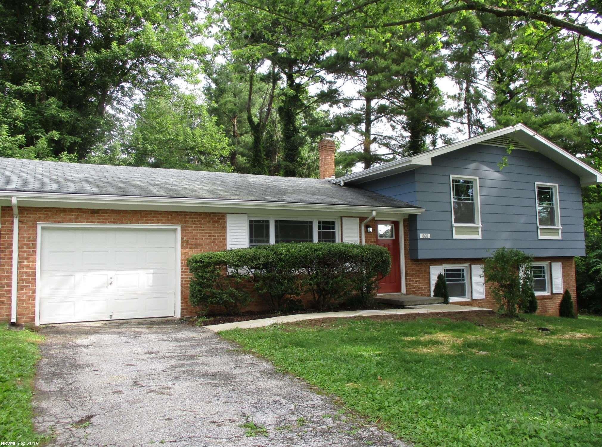 Single Family for Sale at 868 Hutcheson Drive Blacksburg, Virginia 24060 United States