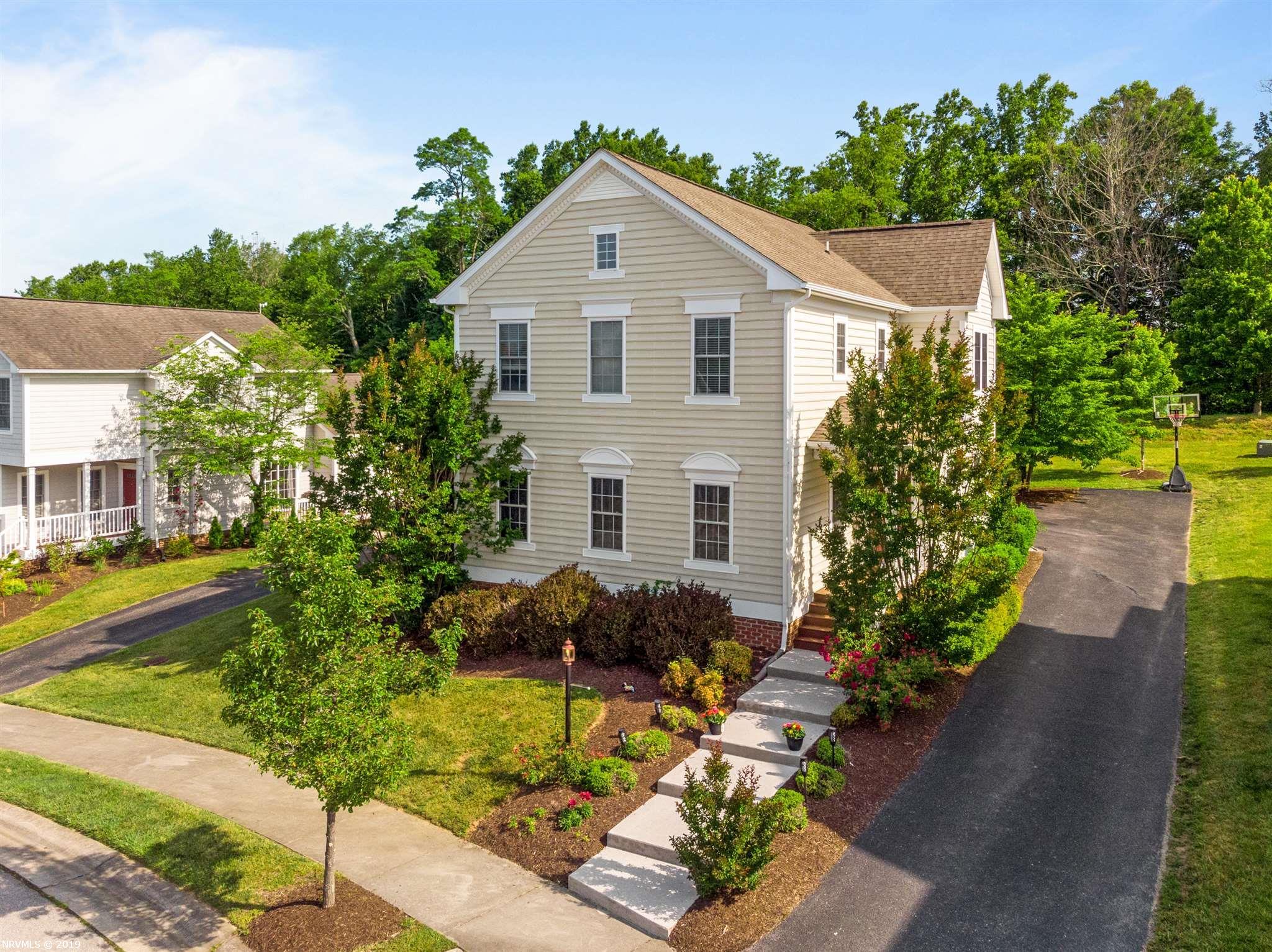 Single Family for Sale at 1123 Brook Circle Blacksburg, Virginia 24060 United States