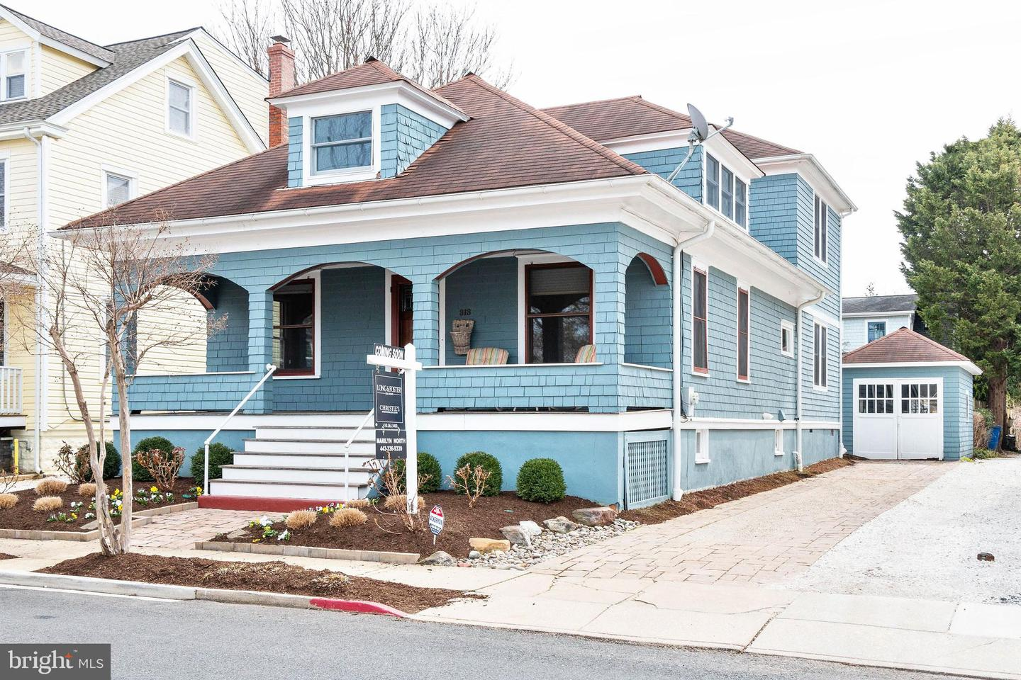 Single Family for Sale at 313 Chesapeake Ave Annapolis, Maryland 21403 United States
