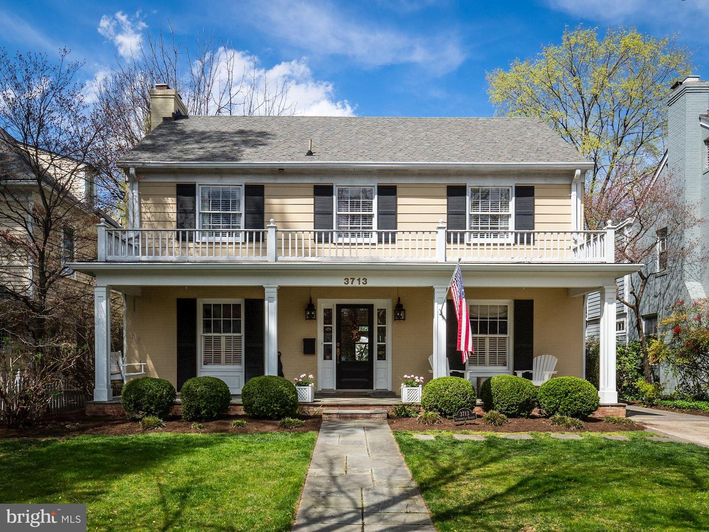 Single Family for Sale at 3713 Thornapple St 3713 Thornapple St Chevy Chase, Maryland 20815 United States