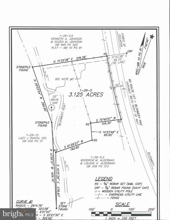 Rt 127, Bloomery, WV, 26817
