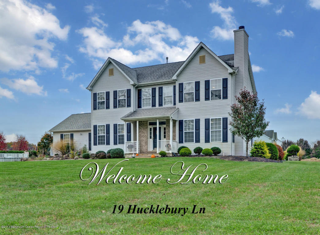 19  Huckleberry Lane,  New Egypt, NJ