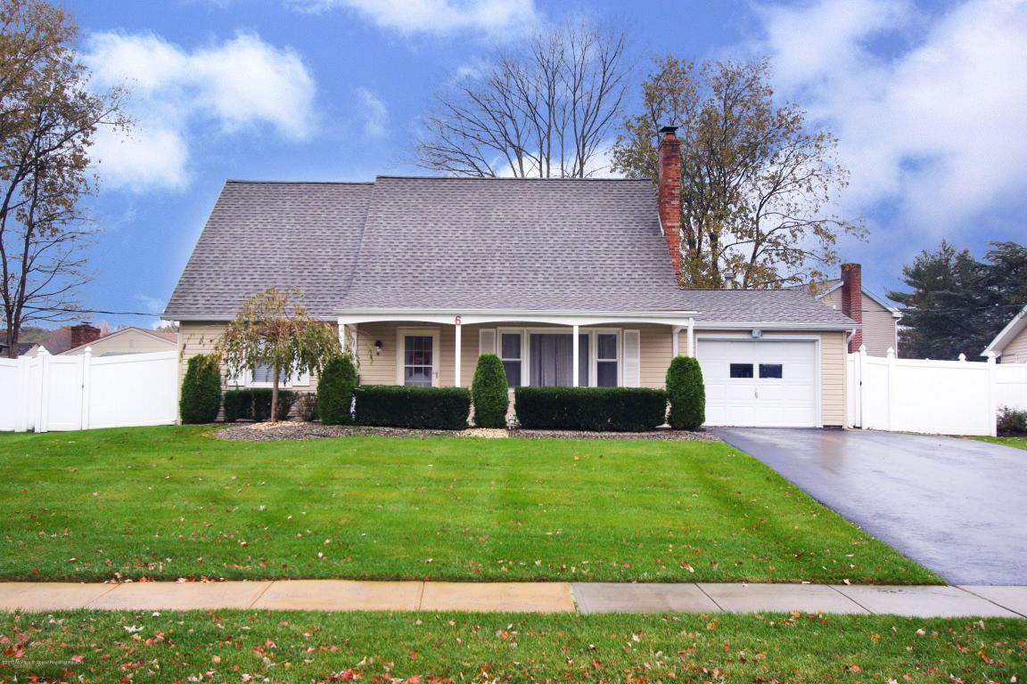 6  North Circle,  Aberdeen, NJ