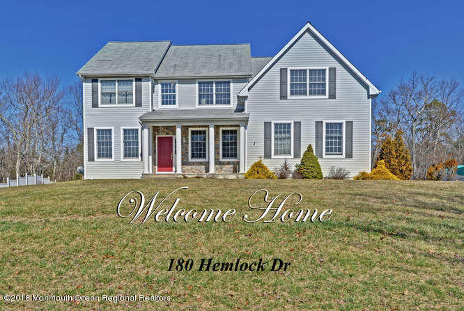 180  Hemlock Drive,  New Egypt, NJ