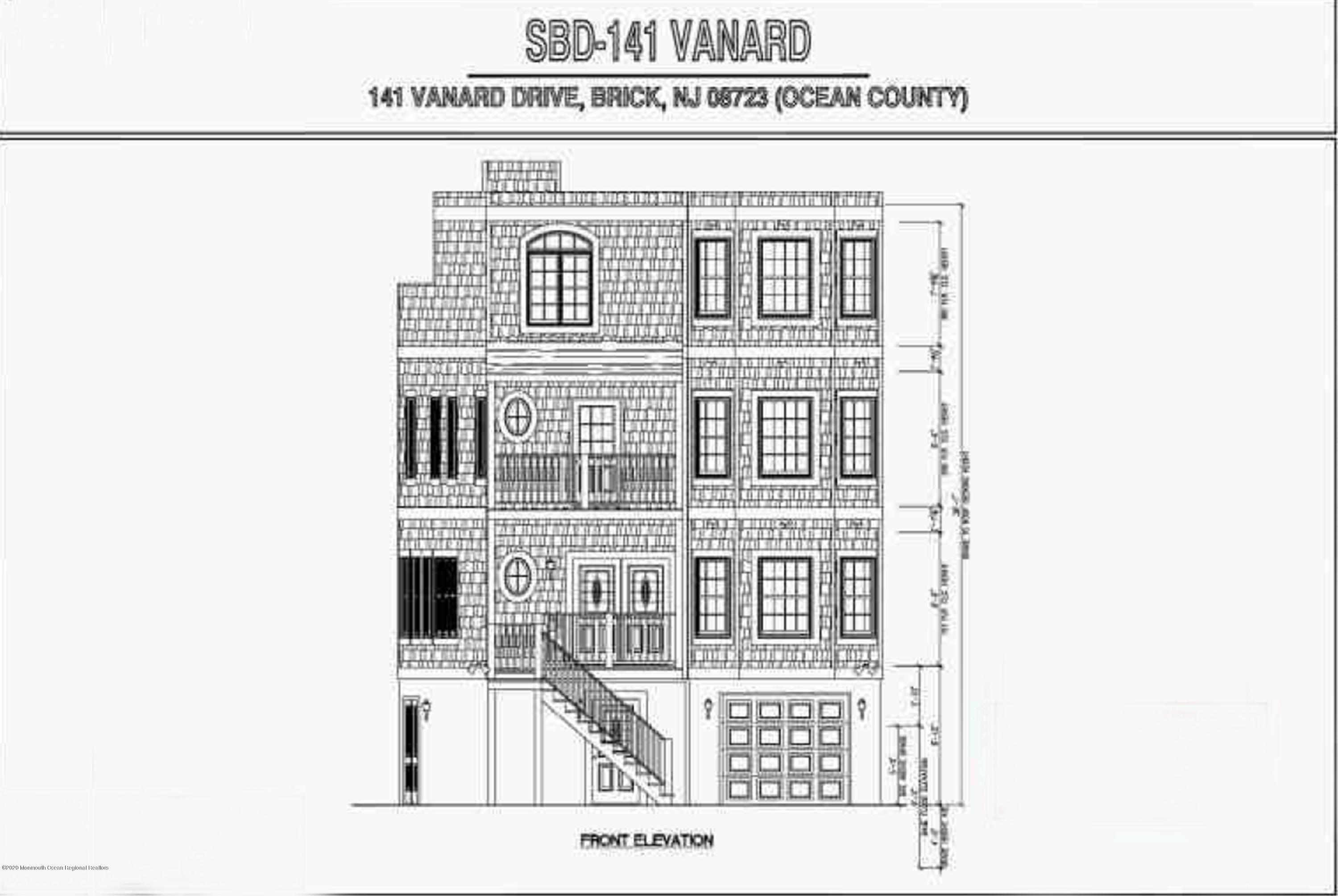 141  Vanard Drive,  Brick, NJ