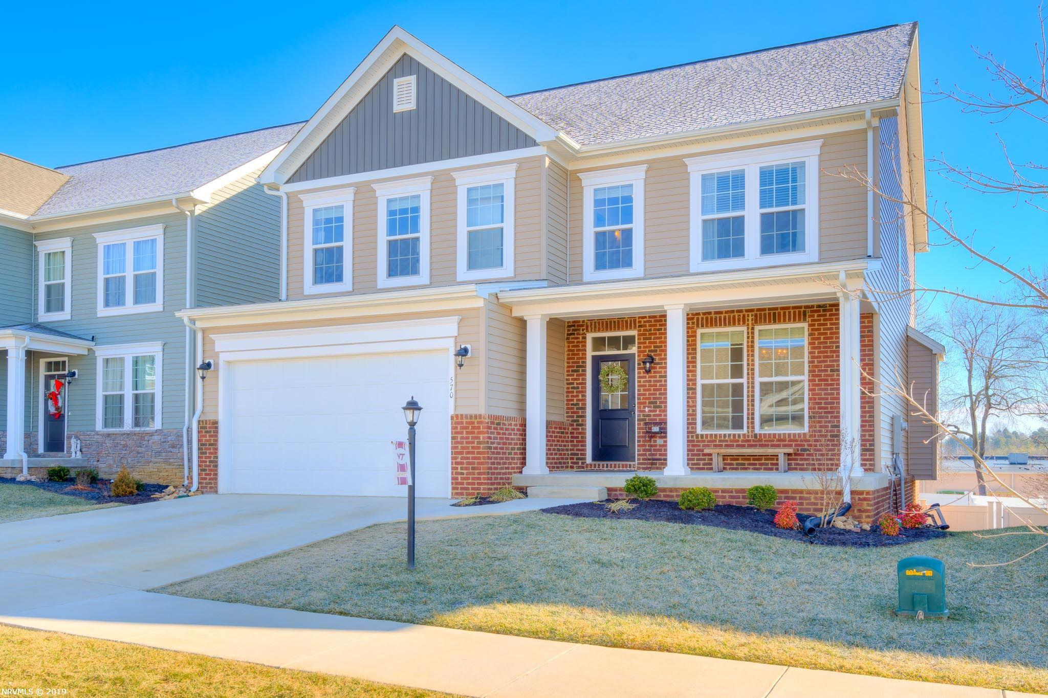 Homes For Sale In The Cambria Crossing Subdivision Christiansburg