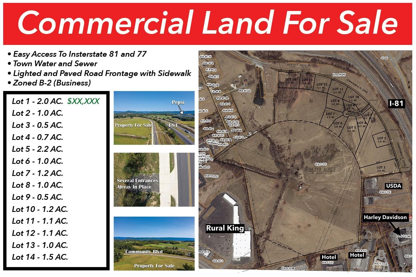 Lot 0  Community,  Wytheville, VA