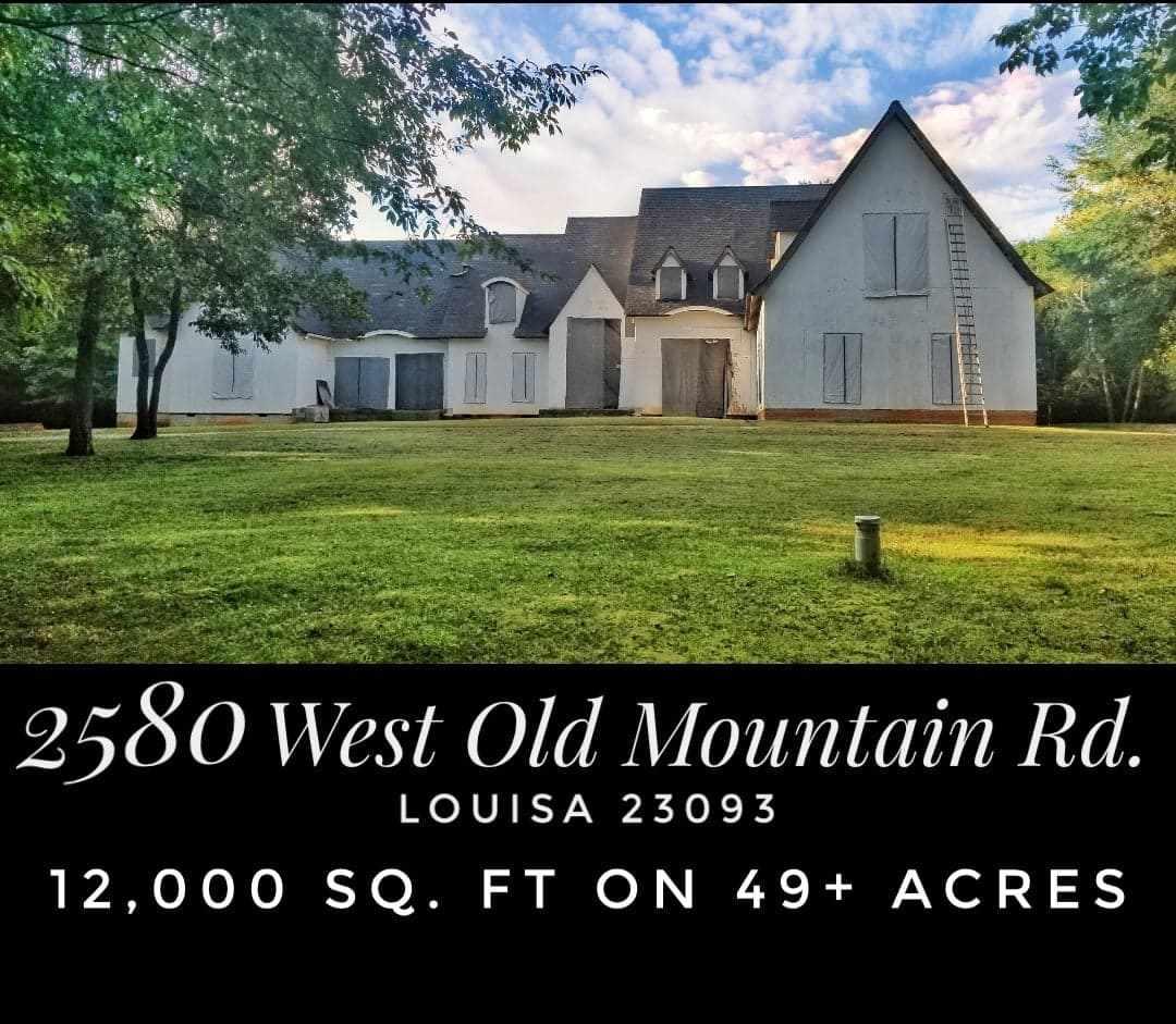 2580  Old Mountain Rd,  Louisa, VA