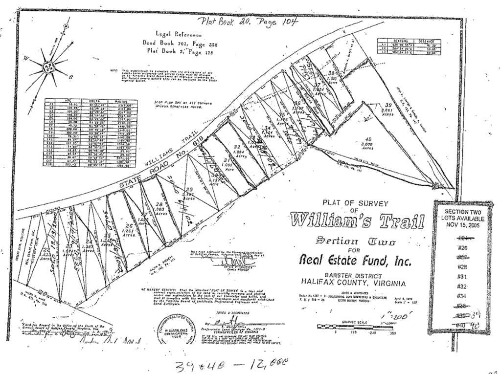 Williams Trail,  Halifax, VA