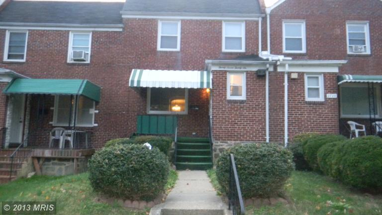 2726  LONGWOOD,  BALTIMORE, MD