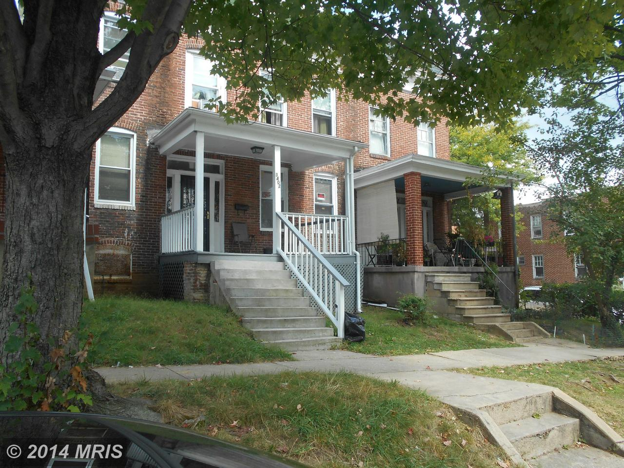 3402  Piedmont,  Baltimore, MD