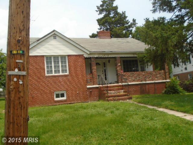 1615  Rosedale Heights,  Baltimore, MD