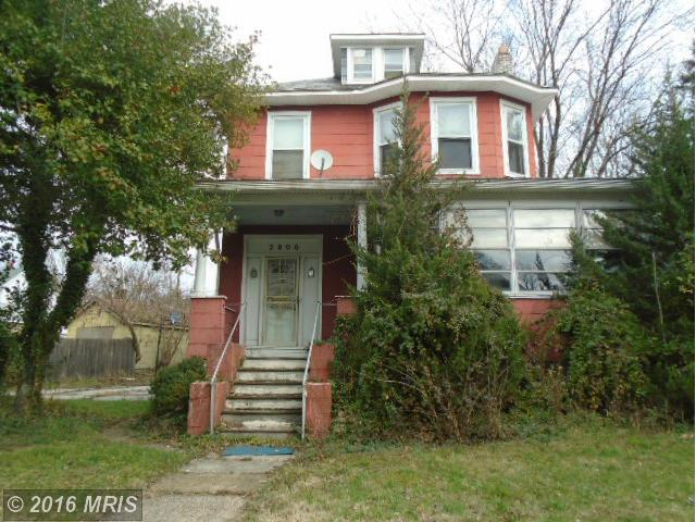 2806  Montebello,  Baltimore, MD