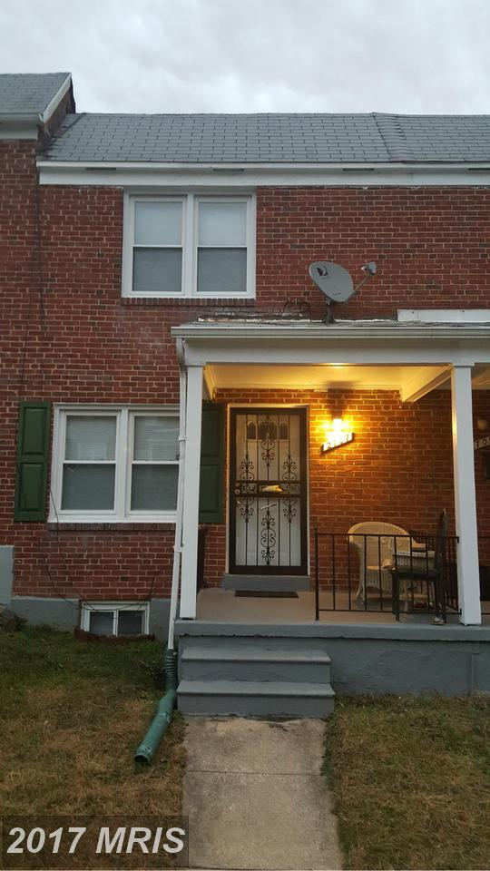 2707  Rosedale,  Baltimore, MD
