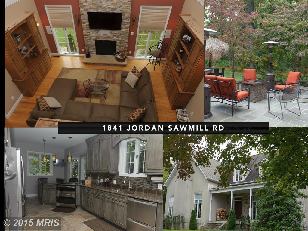 1841  Jordan Sawmill,  Parkton, MD