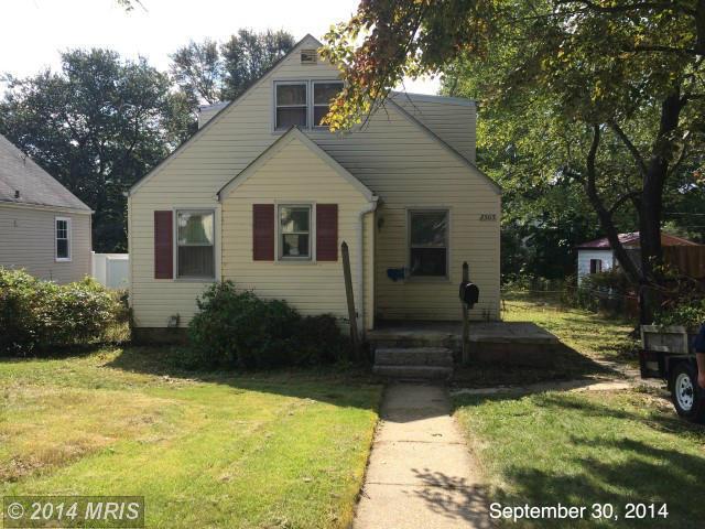 2505  Hillcrest,  Baltimore, MD
