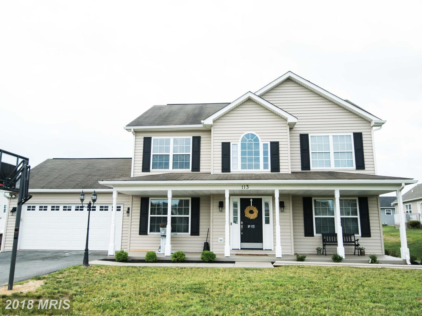 Homes for sale in the Ridgefield subdivision | martinsburg, WV Real ...