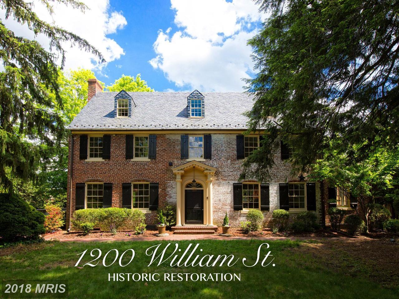 1200  William,  Fredericksburg, VA