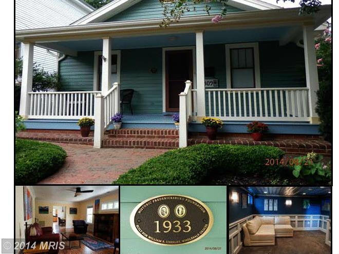 309  Fauquier,  Fredericksburg, VA