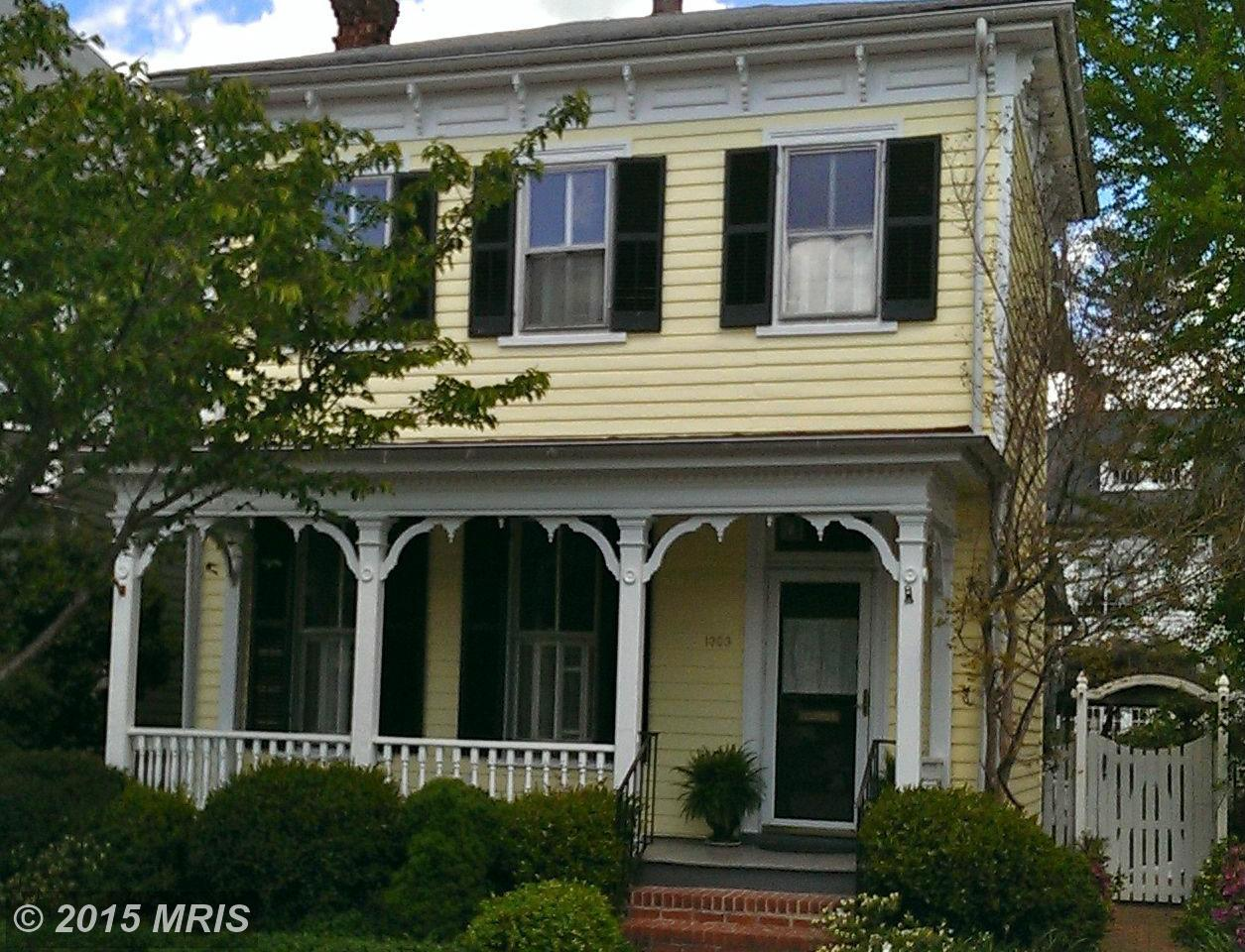 1303  Washington,  Fredericksburg, VA
