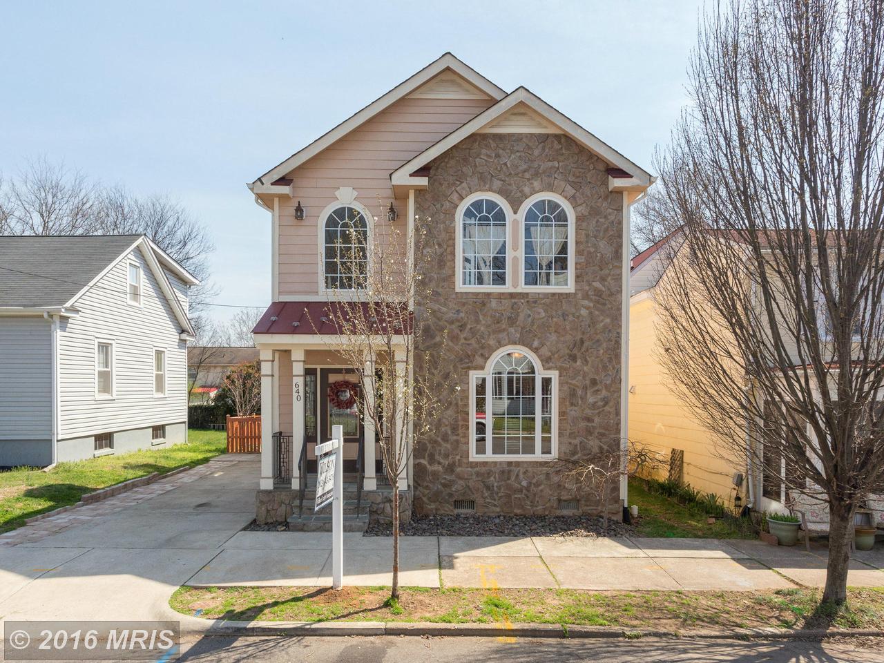 640  Stuart,  Fredericksburg, VA