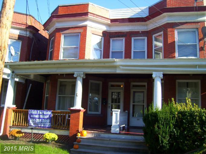127  South Main,  Keyser, WV