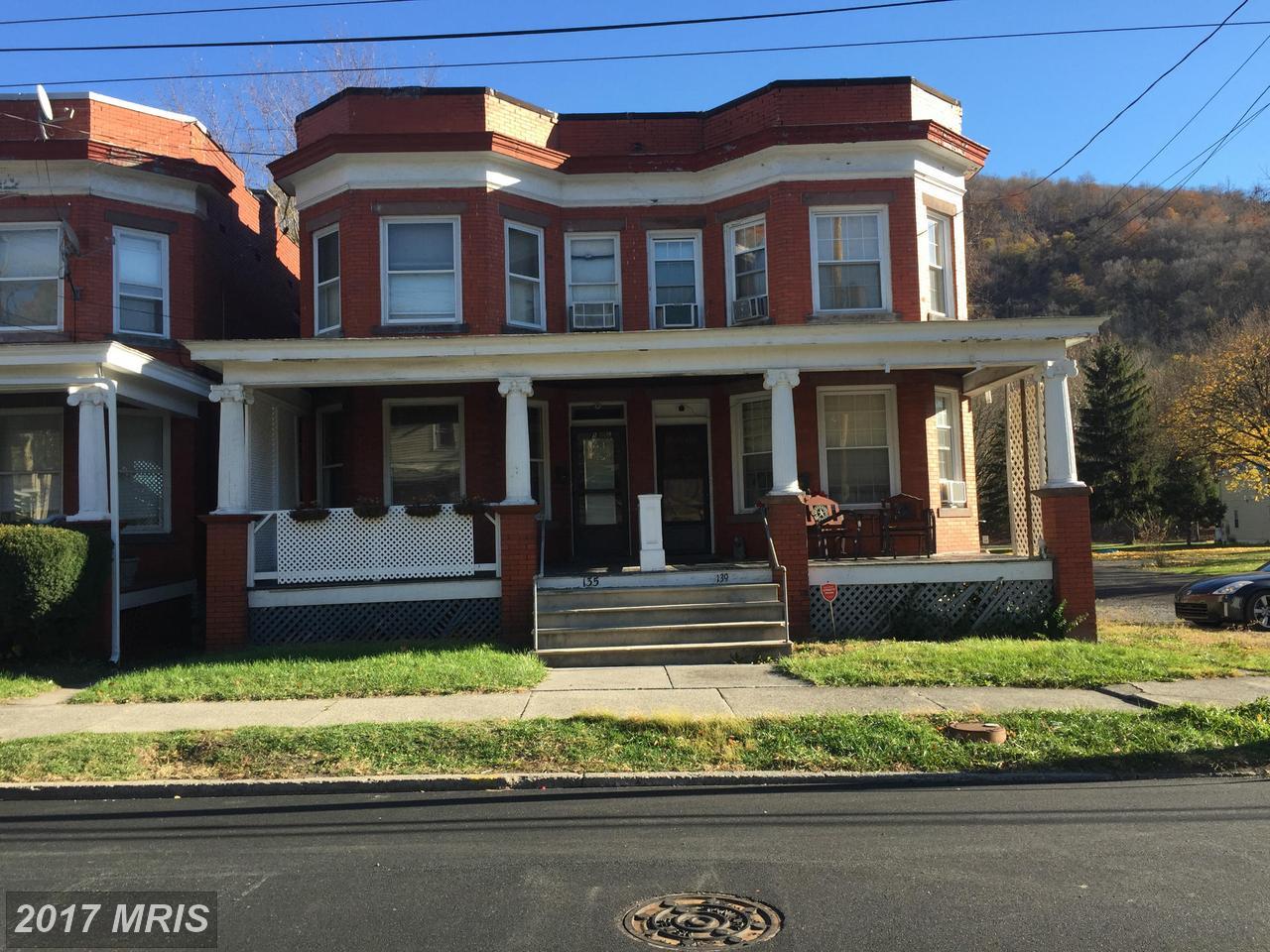 135  South Main Street,  Keyser, WV