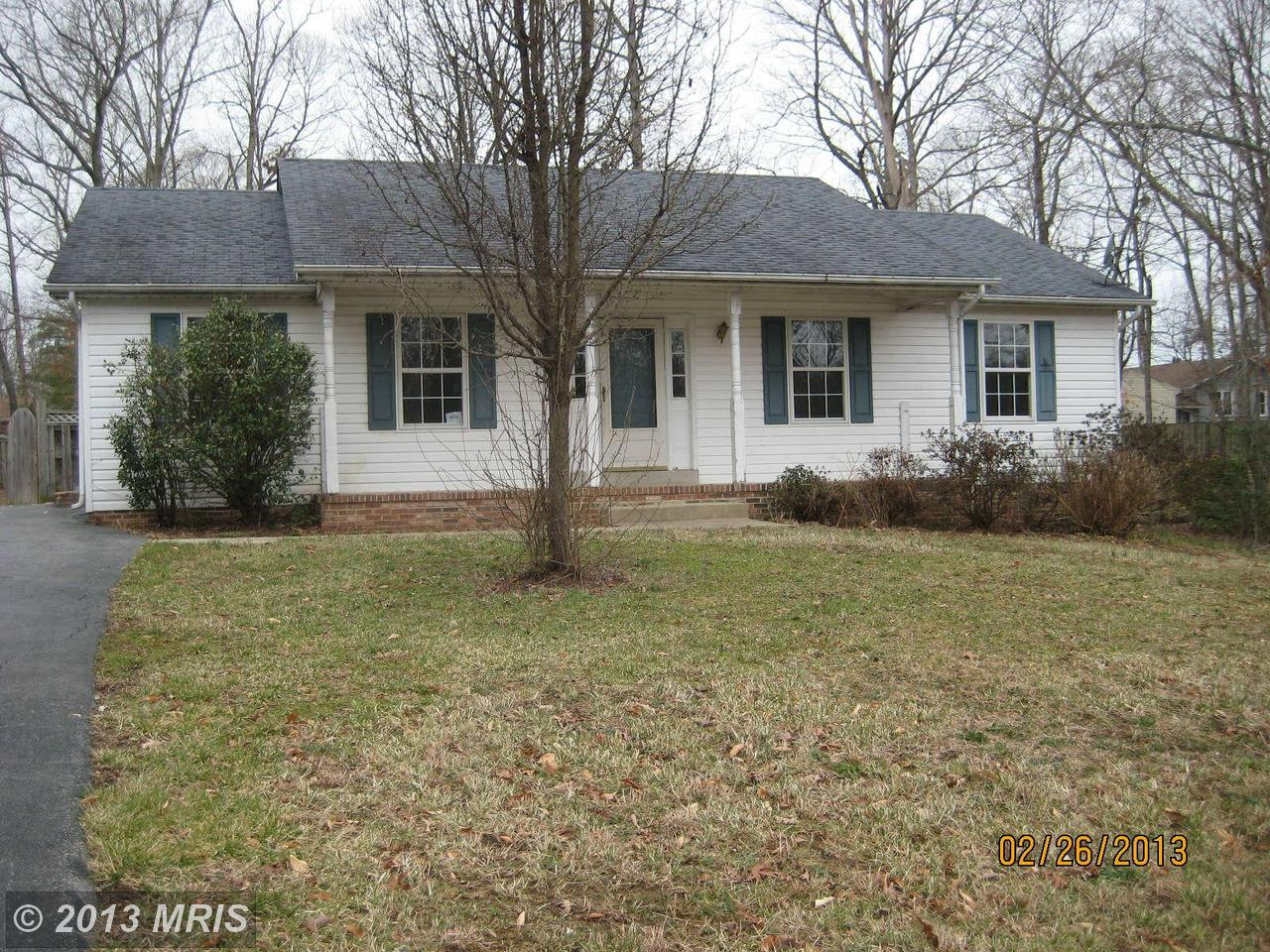 25830  HILLS,  MECHANICSVILLE, MD