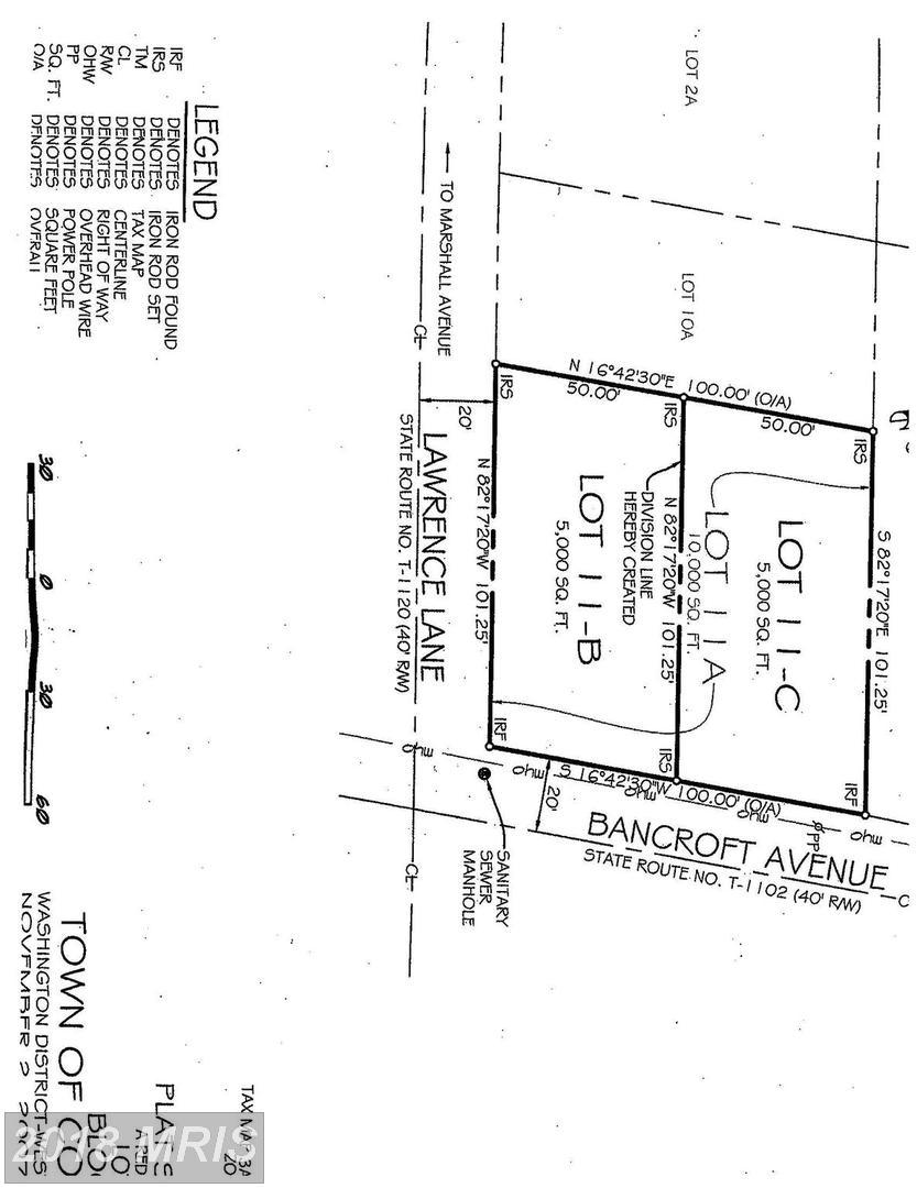 1229  Bancroft Lot 11-B,  Colonial Beach, VA