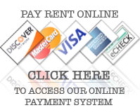 Pay your rent online!